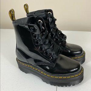 Dr. Martens Molly Boot Patent Platform US6